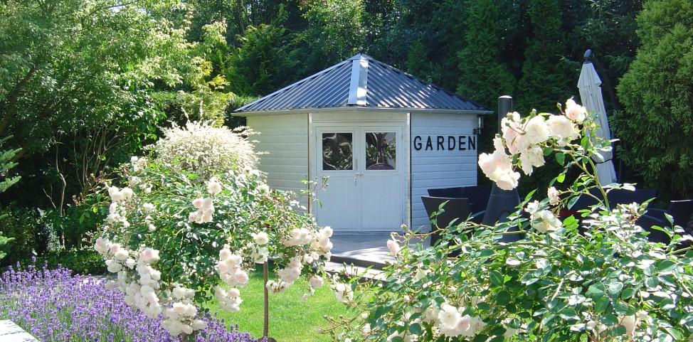 Gazon tuinhuisje onderhoud